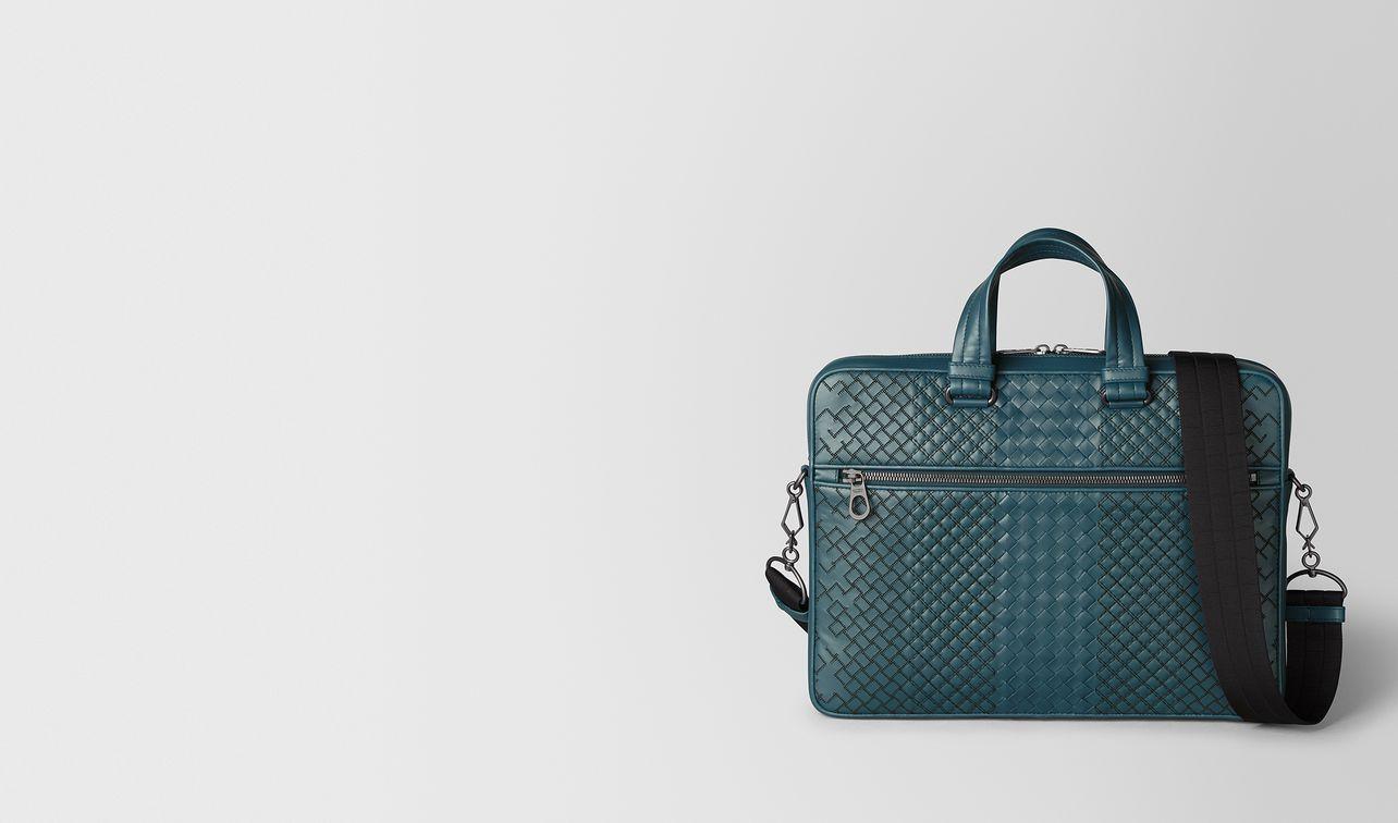 briefcase in intrecciato aurelio  landing