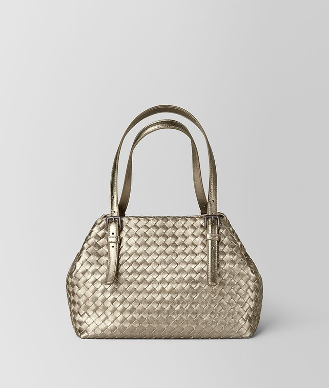 BOTTEGA VENETA MINI CESTA BAG IN INTRECCIATO GROSGRAIN Tote Bag [*** pickupInStoreShipping_info ***] fp