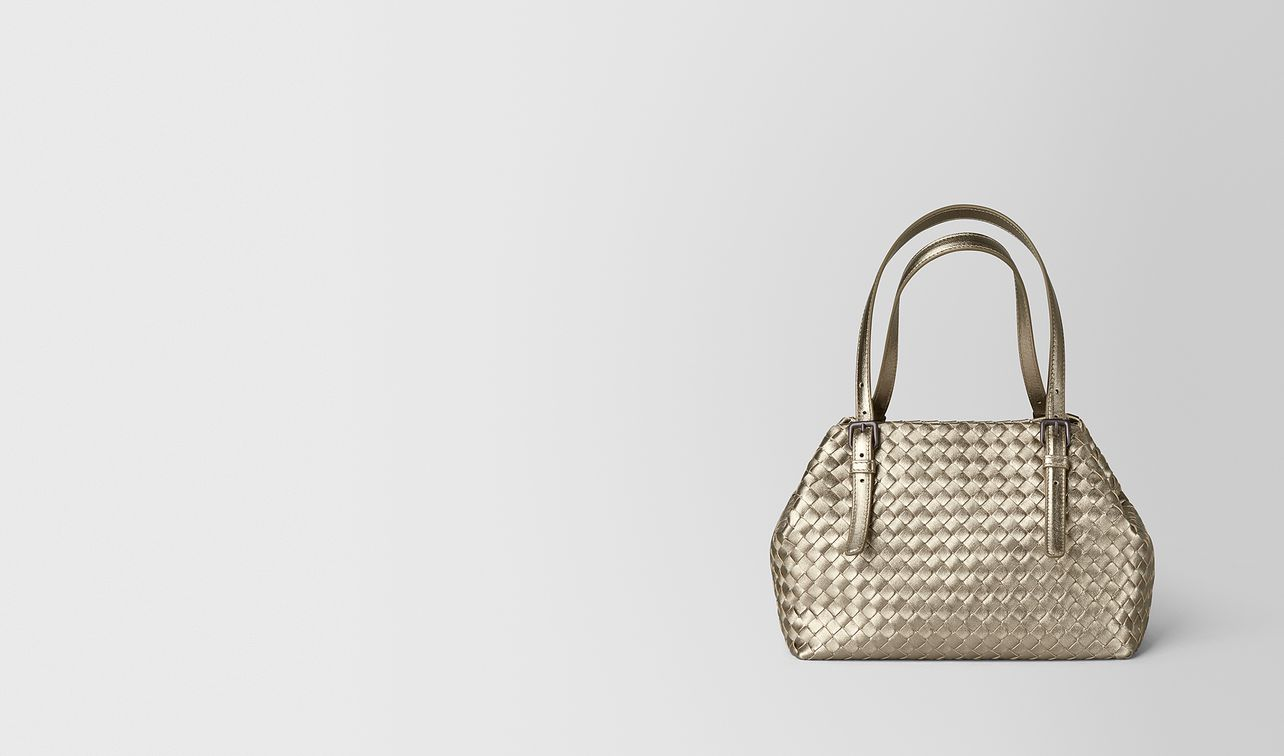 mini cesta bag in intrecciato grosgrain  landing