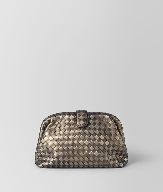 BOTTEGA VENETA THE LAUREN 1980 IN INTRECCIATO NAPPA Clutch [*** pickupInStoreShipping_info ***] fp