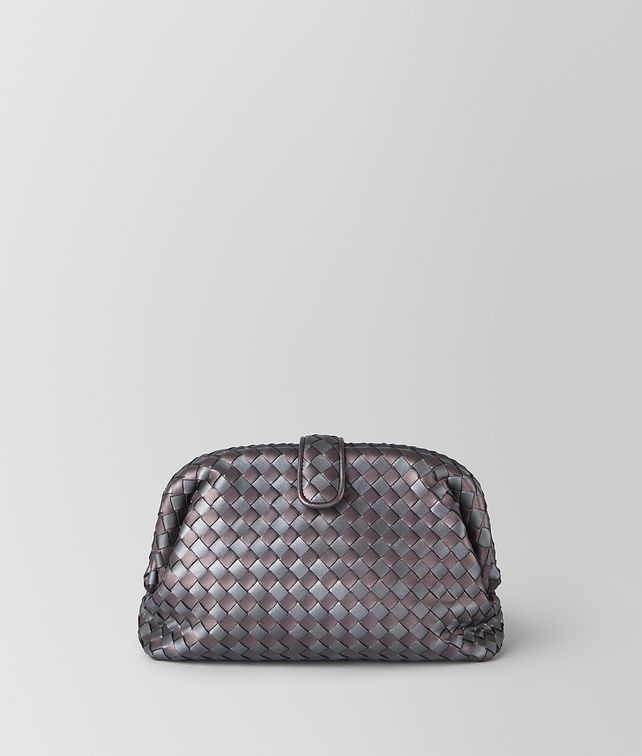 BOTTEGA VENETA THE LAUREN 1980 IN INTRECCIATO NAPPA Clutch Woman fp