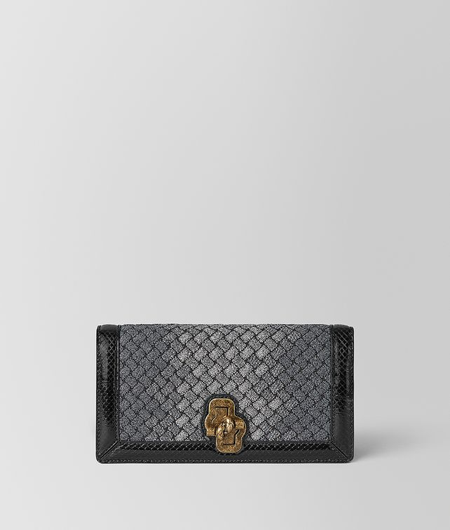BOTTEGA VENETA KNOT CLUTCH IN INTRECCIATO KNITTED Clutch [*** pickupInStoreShipping_info ***] fp