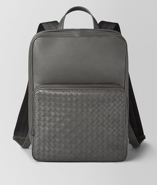 MEDIUM DOUBLE BRICK BACKPACK IN NAPPA