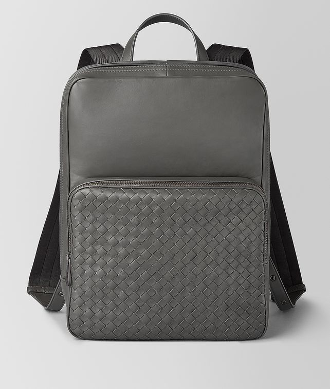 BOTTEGA VENETA MEDIUM DOUBLE BRICK BACKPACK IN NAPPA Backpack Man fp