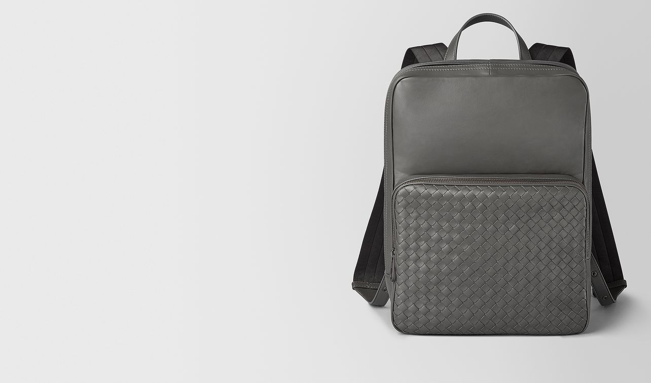 medium double brick backpack in nappa  landing