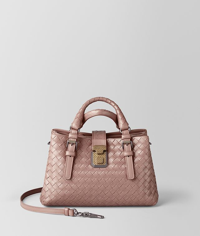 BOTTEGA VENETA MINI ROMA BAG IN INTRECCIATO CALF Top Handle Bag       pickupInStoreShipping info 30e9f8bb6b99c