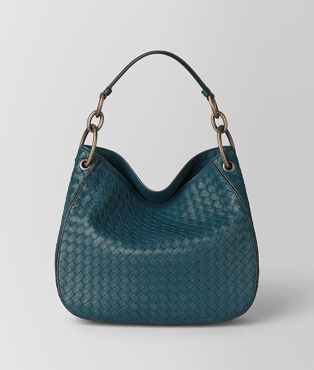 BOTTEGA VENETA BORSA LOOP PICCOLA IN INTRECCIATO NAPPA Borsa hobo [*** pickupInStoreShipping_info ***] fp