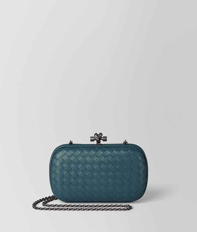 BOTTEGA VENETA CHAIN KNOT IN INTRECCIATO NAPPA Clutch [*** pickupInStoreShipping_info ***] fp
