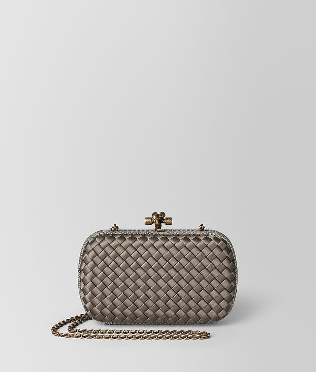BOTTEGA VENETA CHAIN KNOT IN INTRECCIATO IMPERO Clutch [*** pickupInStoreShipping_info ***] fp