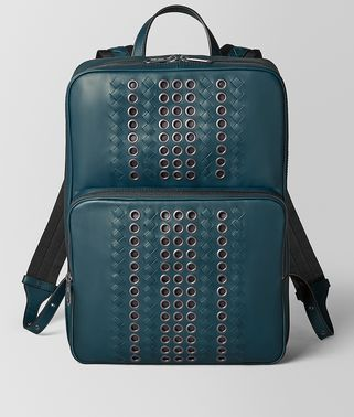 LARGE DOUBLE BRICK BACKPACK IN VN EYELETS