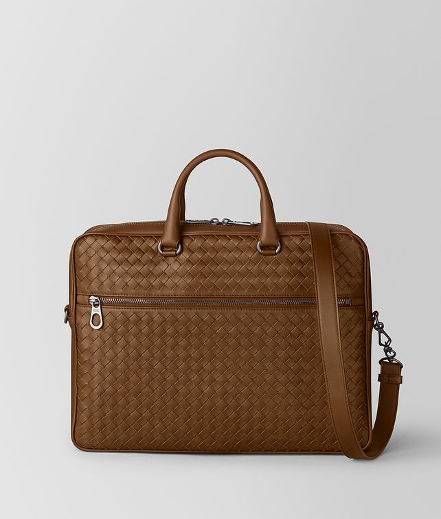 BOTTEGA VENETA SMALL BRIEFCASE IN INTRECCIATO VN Business bag Man fp