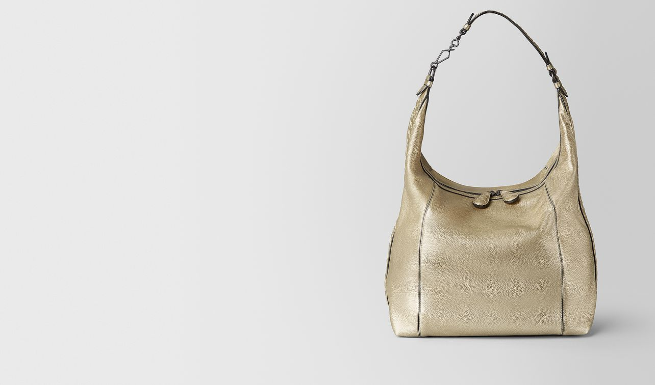 large mi-ny bag in metallic calf  landing