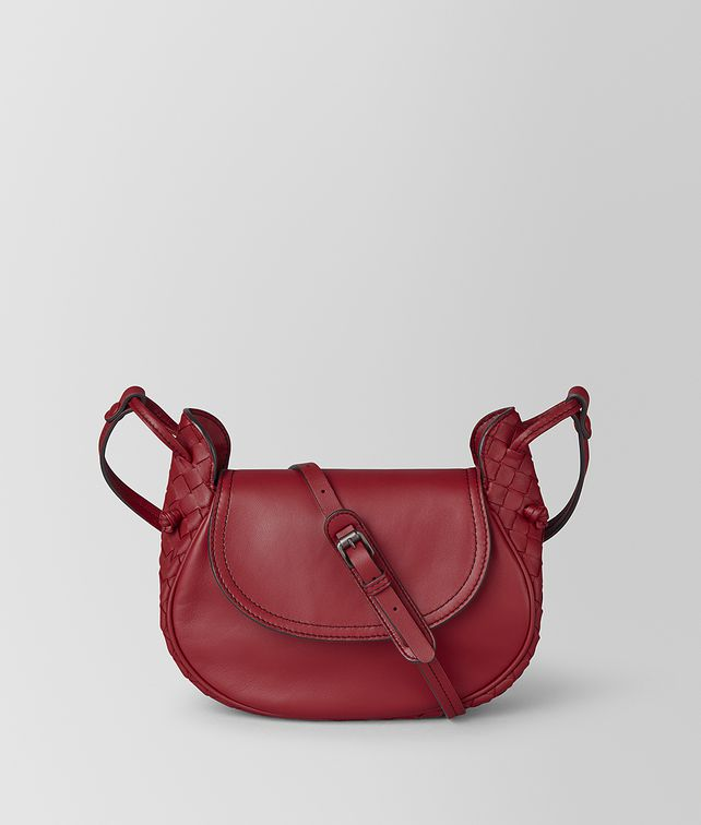 BOTTEGA VENETA BORSA CROSS-BODY PICCOLA IN INTRECCIATO NAPPA Borsa cross-body e marsupio Donna fp