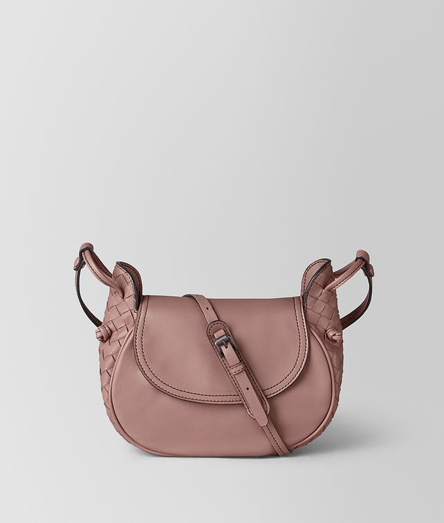 415c48e718 BOTTEGA VENETA SMALL CROSS-BODY BAG IN INTRECCIATO NAPPA Crossbody and Belt  Bags