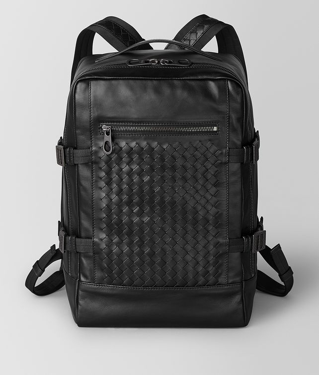 BOTTEGA VENETA BACKPACK IN LEGGERO INTRECCIATO Backpack Man fp