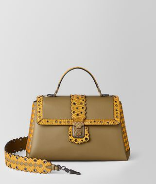 BORSA PIAZZA MEDIA IN CHECKER LACY