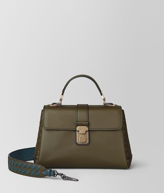 SMALL PIAZZA BAG IN CALF