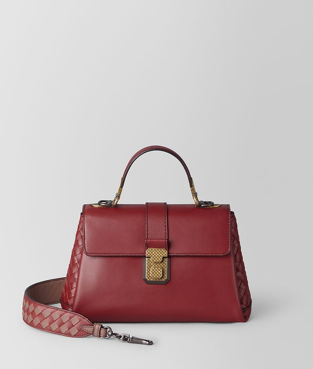 BOTTEGA VENETA SMALL PIAZZA BAG IN CALF Top Handle Bag [*** pickupInStoreShipping_info ***] fp