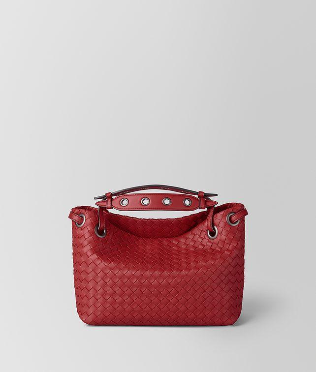 BOTTEGA VENETA BORSA GARDA PICCOLA IN INTRECCIATO NAPPA Shoulder Bag Donna fp