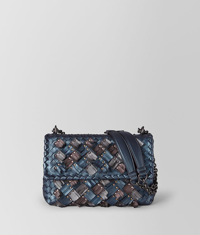 BOTTEGA VENETA KLEINE OLIMPIA TASCHE AUS INTRECCIATO PLUME Shoulder Bag [*** pickupInStoreShipping_info ***] fp