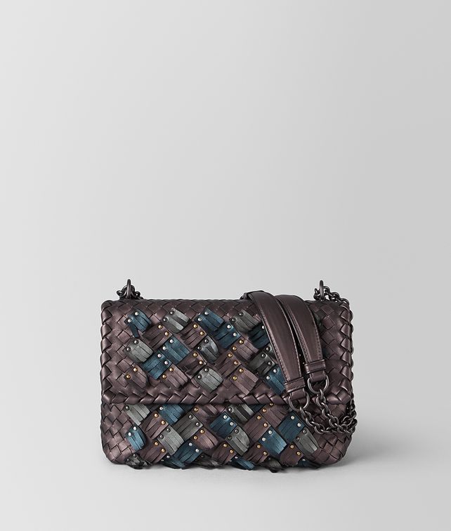 BOTTEGA VENETA SMALL OLIMPIA BAG IN INTRECCIATO PLUME Shoulder Bag [*** pickupInStoreShipping_info ***] fp