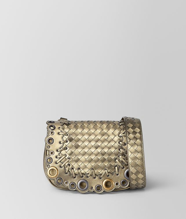 BOTTEGA VENETA BV LUNA BAG IN INTRECCIATO LACE Crossbody bag [*** pickupInStoreShipping_info ***] fp