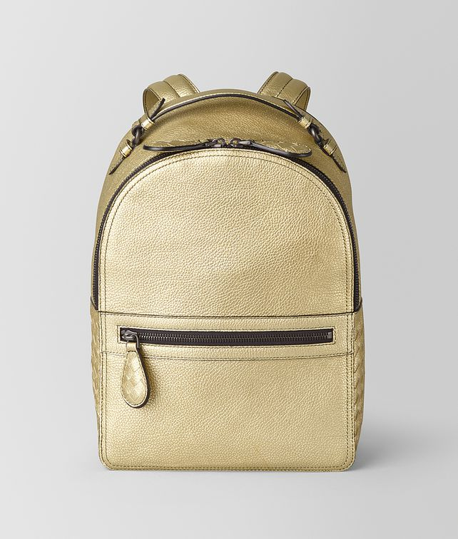 BOTTEGA VENETA BACKPACK IN METALLIC CALF Backpack [*** pickupInStoreShipping_info ***] fp