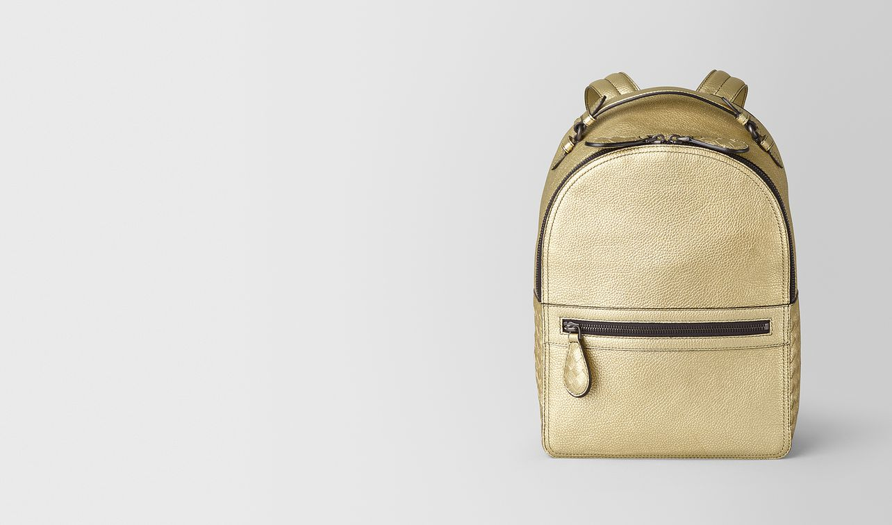 backpack in metallic calf  landing