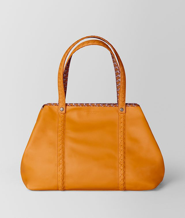 BOTTEGA VENETA MEDIUM TOTE IN NAPPA AND NYLON  Tote Bag [*** pickupInStoreShipping_info ***] fp