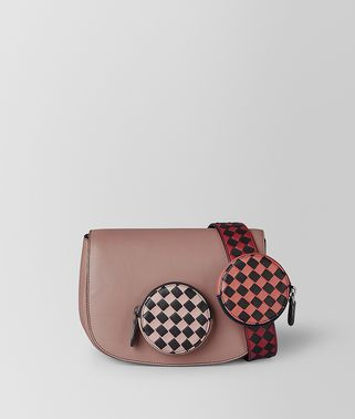 BV LUNA BAG IN INTRECCIATO CHECKER