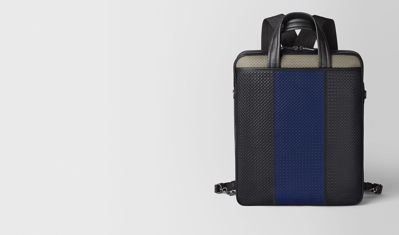 backpack in micro-intrecciato embossed  landing