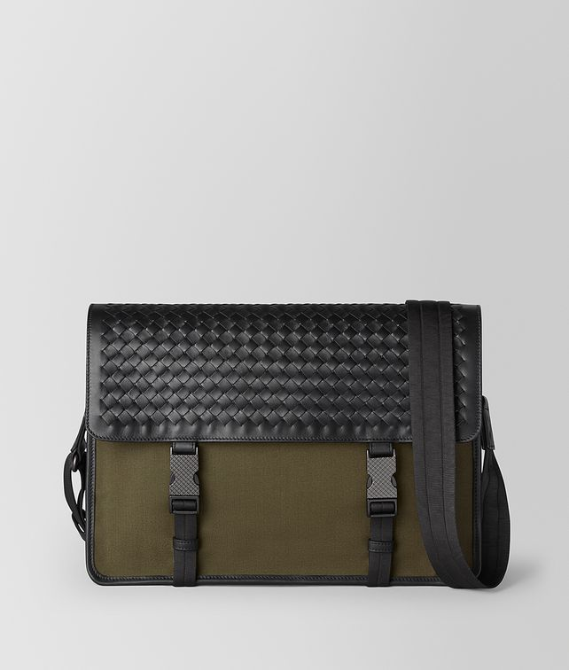 BOTTEGA VENETA MESSENGER BAG IN MERIDIAN Messenger Bag [*** pickupInStoreShippingNotGuaranteed_info ***] fp