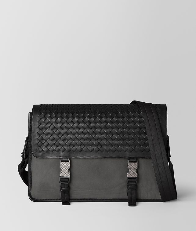 BOTTEGA VENETA MESSENGER BAG IN MERIDIAN Messenger Bag Man fp
