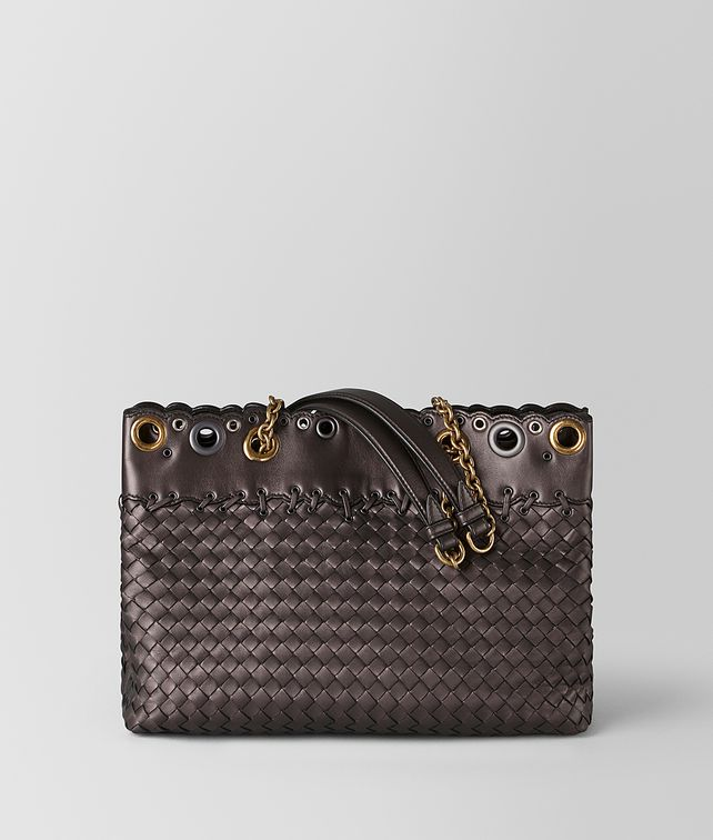 BOTTEGA VENETA SMALL TOTE IN INTRECCIATO LACE Tote Bag [*** pickupInStoreShipping_info ***] fp
