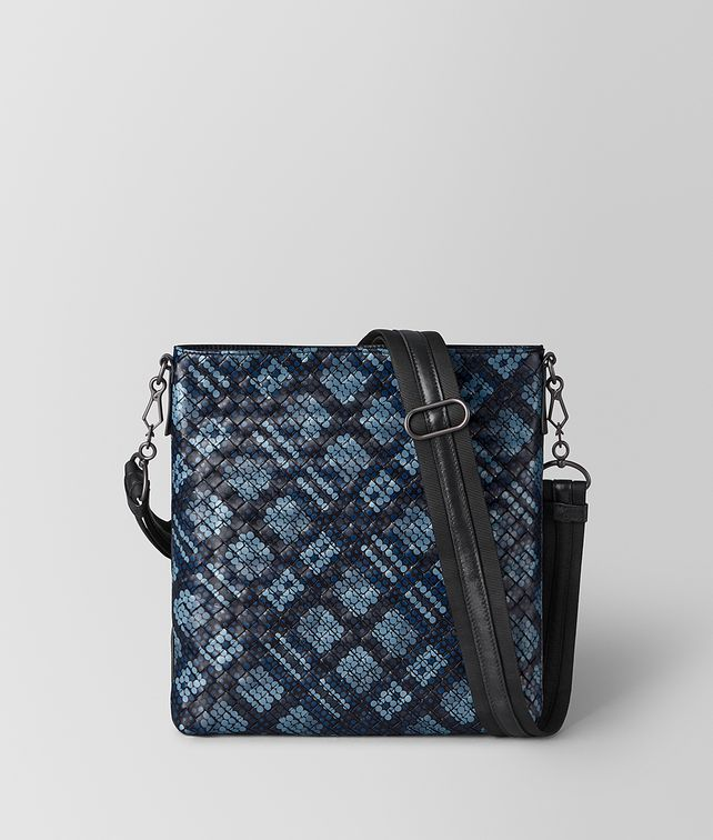 BOTTEGA VENETA MESSENGER BAG IN TARTAN DOTS Messenger Bag [*** pickupInStoreShippingNotGuaranteed_info ***] fp