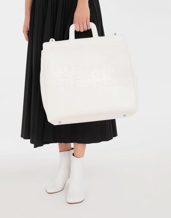 MAISON MARGIELA Embossed shopping bag Tote [*** pickupInStoreShipping_info ***] b