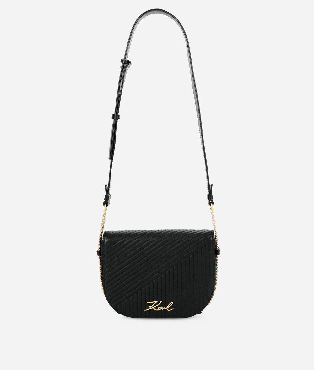 KARL LAGERFELD K/Signature Quilted Shoulder Bag Crossbody Bag Woman f
