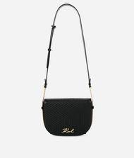 KARL LAGERFELD K/Signature Quilted Shoulder Bag 9_f