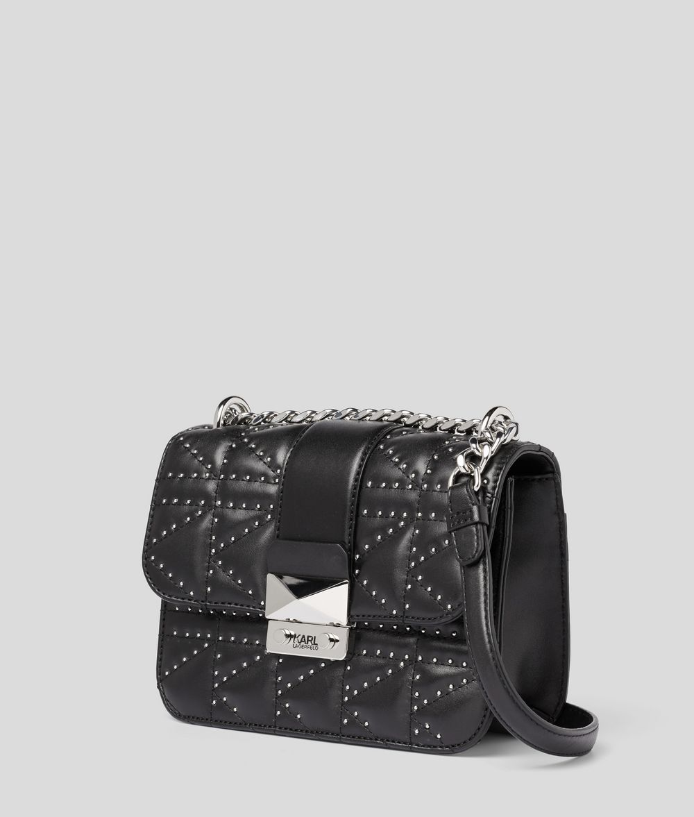 KARL LAGERFELD K/Kuilted Studs Crossbody Bag Crossbody Bag Woman d