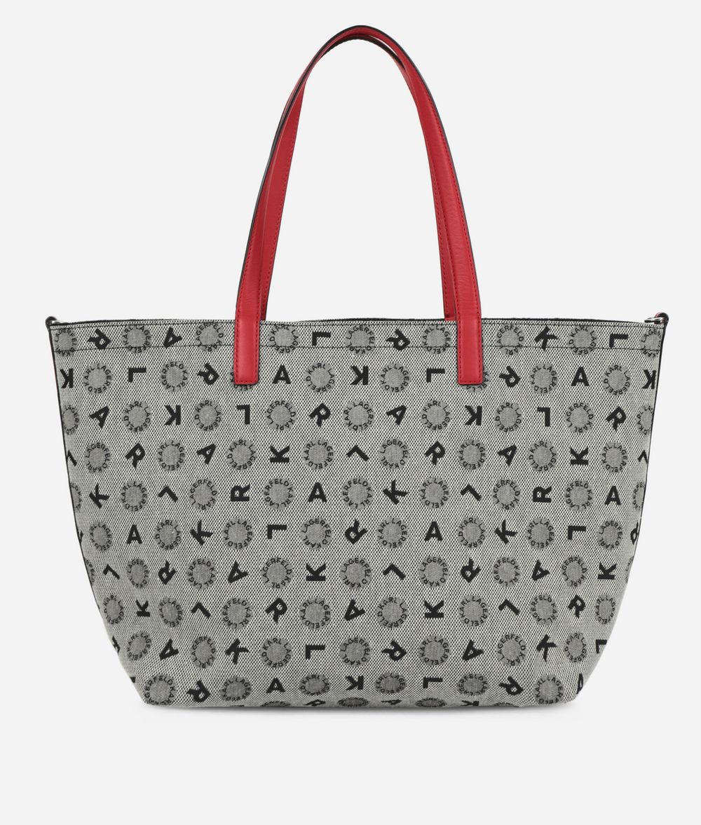 KARL LAGERFELD K/Jacquard Reversible Shopper  Shopper Woman d