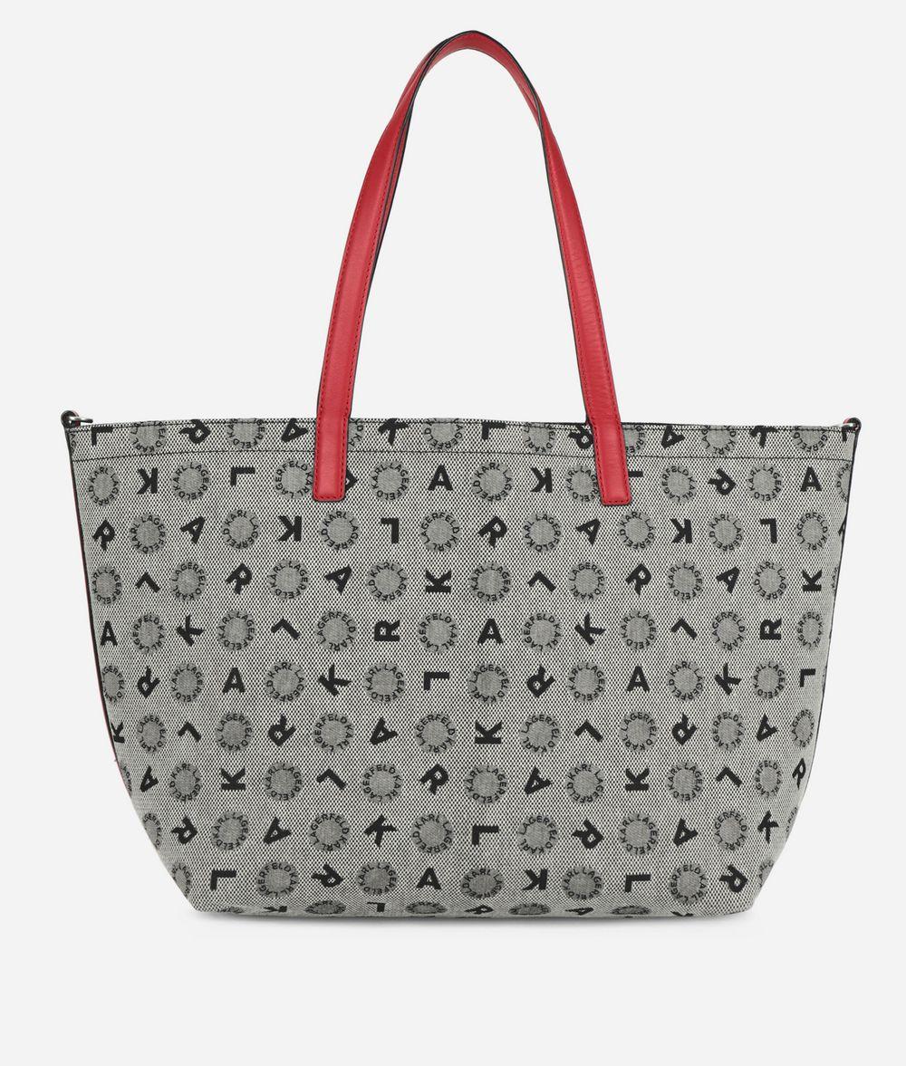 KARL LAGERFELD K/Jacquard Reversible Shopper  Shopper Woman f