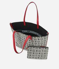 KARL LAGERFELD K/Jacquard Reversible Shopper  9_f