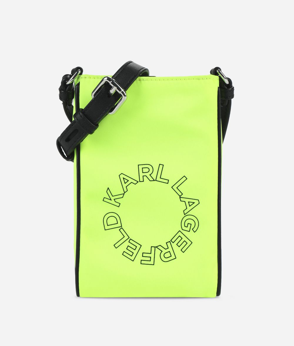 KARL LAGERFELD K/Neon Mini Crossbody Bag Pouch E f