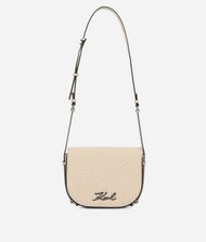 KARL LAGERFELD K/Signature Quilted Shoulder Bag 9_f