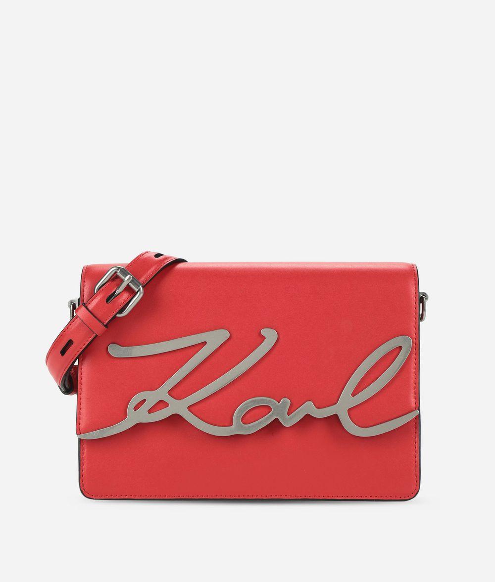 KARL LAGERFELD K/Signature Shoulder Bag Handbag Woman f