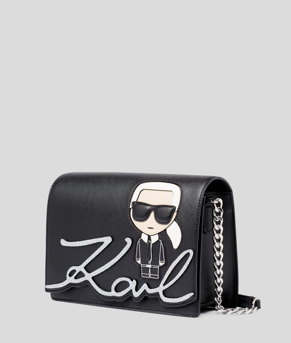 KARL LAGERFELD K/Ikonik Shoulder Bag Handbag Woman d