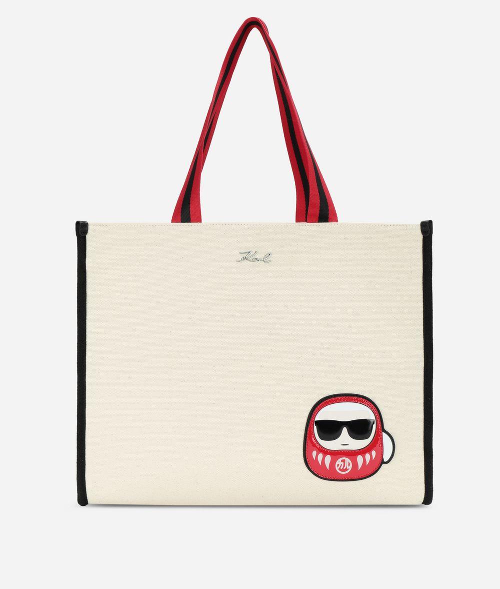 KARL LAGERFELD K/Tokyo Canvas Shopper Canvas Shopper Woman f