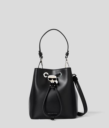KARL LAGERFELD K/IKONIK BUCKET BAG