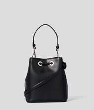 KARL LAGERFELD K/Ikonik Bucket Bag Drawstring bag Woman d