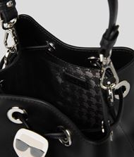 KARL LAGERFELD K/Ikonik Bucket Bag Drawstring bag Woman e